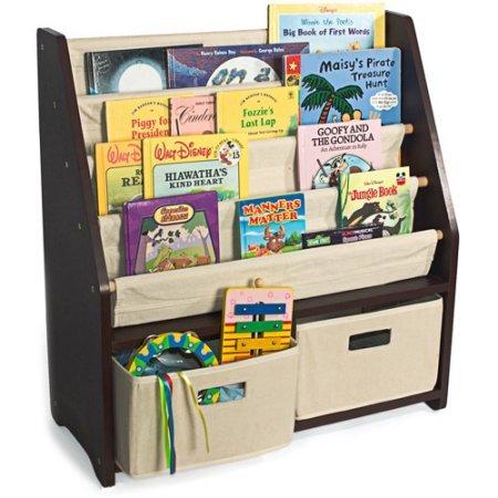 WonkaWoo Little Bookworm Sling Bookshelf
