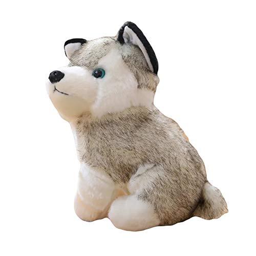 Finance Plan Cute Simulation Husky Dog Plush Toy Puppy Stuffed Animal Kids Boys Girls Doll