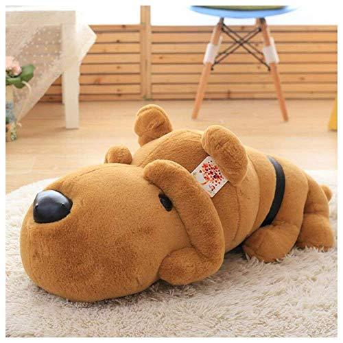 SAMILLEE 275 Dark Brown Dog Stuffed Animal-Puppy Plush Toy