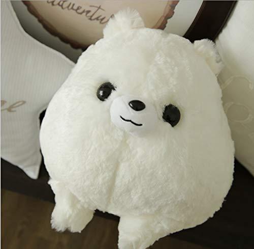 wangdounet Plush ToyFat Round Bomei Dog Doll Cute Furry Puppy Plush Toy
