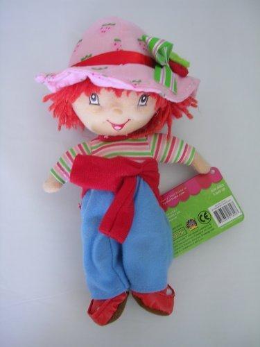 Strawberry Shortcake Plush Toy - 9in Small Stuffed Animal