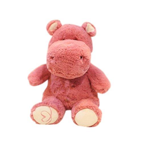 Remeehi Pink Stuffed Animal Hippo Cute Hippo Toy 12