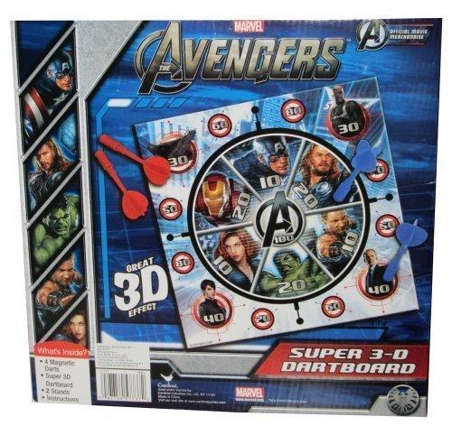 Cardinal Games Avengers 3D Magnetic Dartboard by Cardinal Games