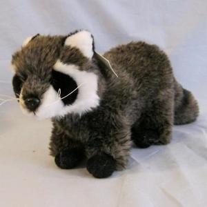 Stuffed Animal Raccoon 11 Inches