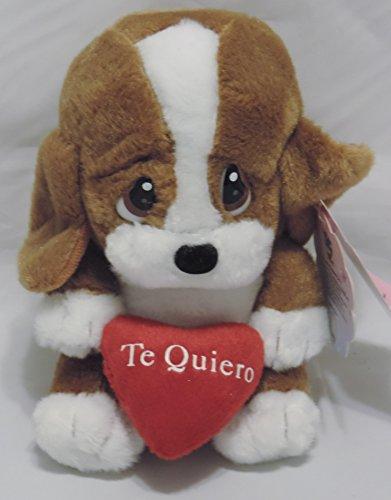 Plush Sad Sam Basset Hound Talking Stuffed Animal 6 Te Quiero