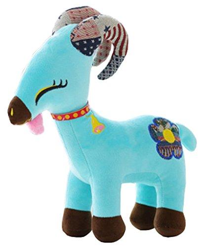 Azure Tibetan Antelope Doll Little Goat Plush Toys Creative Gift 35 CM