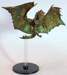 D&D Fantasy Miniatures - Icons of the Realms - Elemental Evil - Bronze Dragon