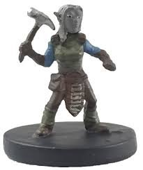 D&D Fantasy Miniatures - Icons of the Realms - Elemental Evil - Svirfneblin Rogue