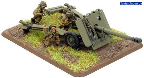 17 PDR Gun Para British Two Guns with Command - Wargaming - Flames of War