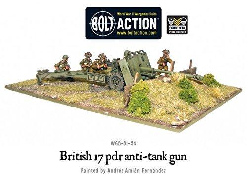 British Army 17 pdr Anti-tank Gun - 28mm Bolt Action Wargaming Miniatures