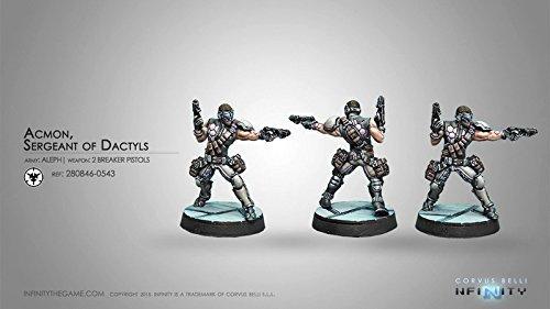 Acmon Sergeant of Dactyls Aleph Infinity Miniature Game Corvus Belli