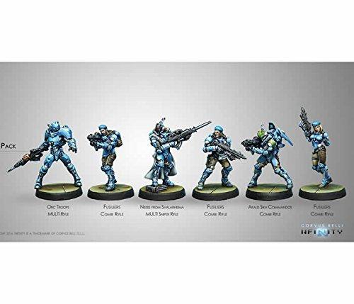 Panoceania Starter Infinity Miniatures Corvus Belli by Corvus Belli