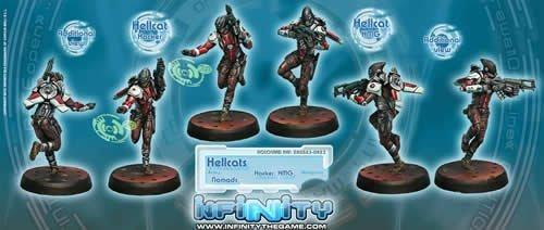 Hellcats HMG  Hacker 2 Nomads Infinity Corvus Belli