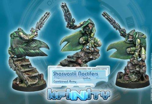Noctifers Spitfire 1 Combined Army Infinity Corvus Belli