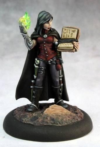 Nonalla Ellinad Female Elf Wizard Miniature by Reaper