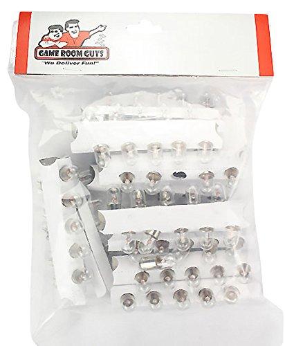 Set of 100 47 Pinball Light Bulb Lamps - 63V