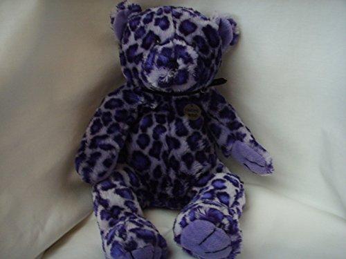 Purple Leopard Plush Toy Large 17 Collectible