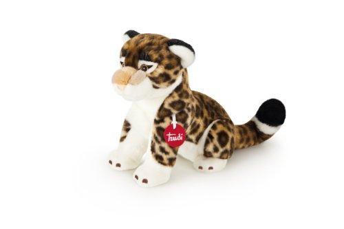 Trudi Classic Achille The Leopard Plush Toy Sitting 11