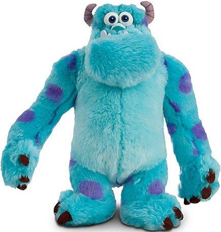 13 Disney Blue Sulley Pixar Monsters Inc University Stuff Deluxe Kid Plush Toy