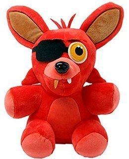 Five Nights at Freddy Bear Fox Bonnie Chica Freddy Nightmare Fredbear Clown Kids Plush Toys Red Color 25cm - 30cm