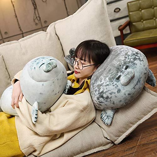 UpBeauty Simulation Seal Stuffed Toy Cute Seal Plush Toy Nursery Décor