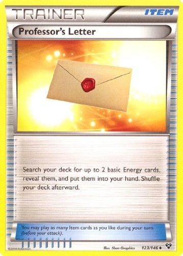 Pokemon Professors Letter XY 123146 Card Trainer-Item