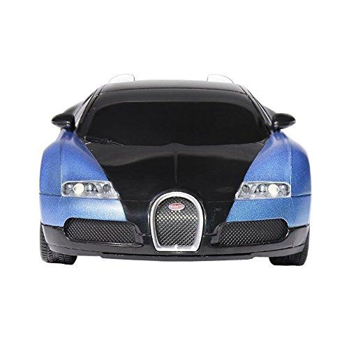Radio Remote Control Bugatti 1 24 Scale RC Toy Car Blue