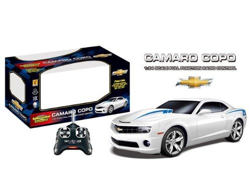 2013 Chevrolet Camaro COPO RC Remote Control Sports Car 124 Scale Model White