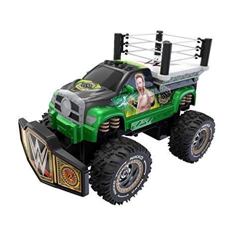 Toy State Nikko RC WWE Rolling Ring Sheamus Radio Control Vehicle