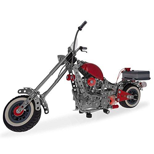 Motorcycle Bike Chopper Construction Model Kit 940 Pieces