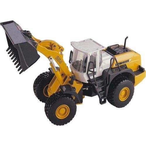 Joal 263 Model Construction Vehicle Wheeled Front Loader Liebherr L564 by Joal