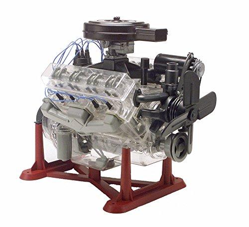 Revell 85-8883 14 Visible V-8 Engine Plastic Model Kit 12-Inch