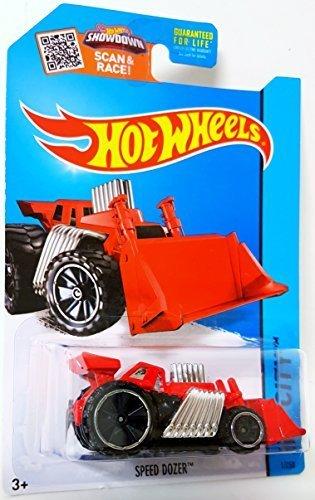 Hot Wheels Speed Dozer HW City Collectible Toy Car 1125 HW City Works by Mattel
