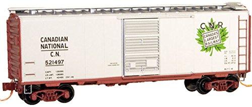 Micro Trains N Scale 40 Std Box Car Canadian National - 02000946