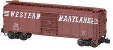 N Scale ATLAS 40 Foot Box Car Western Maryland Freight train car - 3305
