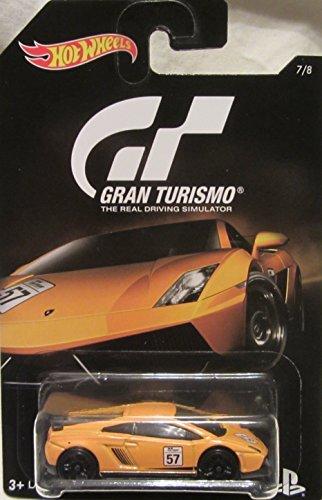 2016 Hot Wheels GRAN TURISMO LAMBORGHINI GALLARDO LP 570-4 SUPERLEGGERA Limited Edition 164 Scale Collectible Die Cast Metal Toy Car Model