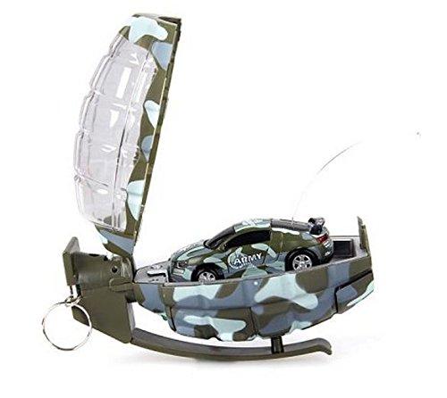 Remote Control Army Grenade Racing Super Mini Rc Car Toy Birthday Gift Random Color