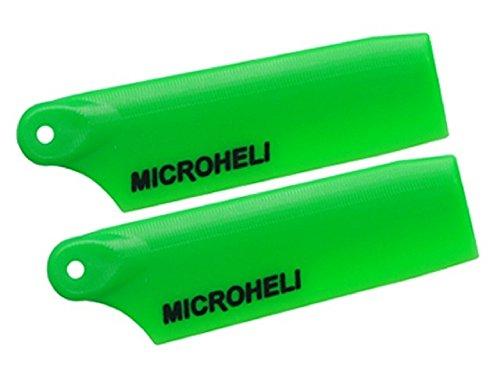 Microheli Plastic Tail Blade 47mm GREEN - BLADE 300 CFX