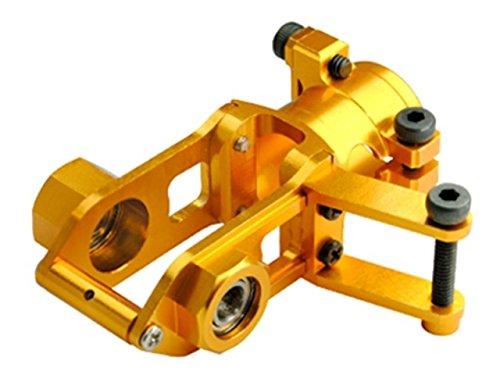 Microheli Precision CNC Aluminum Tail Gear Case GOLD - BLADE 300 CFX