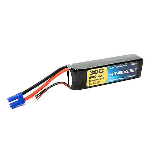 Kinexsis 148V 5000mAh 4S 30C LiPo 10AWG EC5 Battery