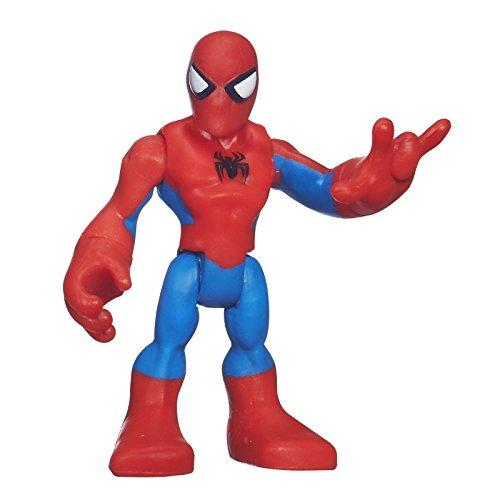 Marvel Playskool Super Hero Adventures Mini Figure Spider-Man NO WEBS Bagged