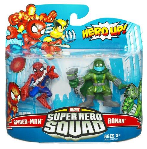 Marvel Super Hero Squad Spider-Man Ronan Action Figure 2-Pack