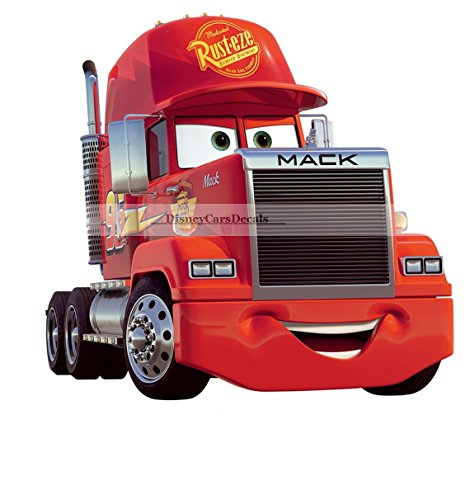 10 Team 95 Mack Truck Disney Pixar Cars 2 Movie Removable Wall Decal Sticker Art Home Racing Decor 9 34 by 9 inches