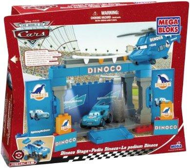 Mega Bloks  Cars Dinoco Stage