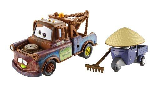 Disney  Pixar CARS 2 Movie 155 Die Cast Car 2Pack Race Team Mater Zen Master Pitty