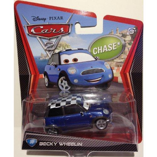 DisneyPixar Cars 2 Movie Die-Cast Vehicle Becky Wheelin 33 155 Scale by Mattel