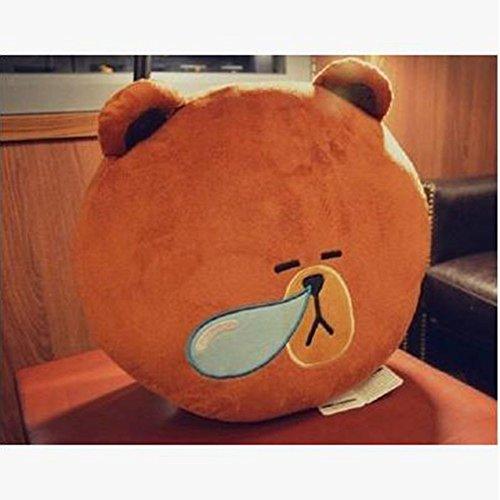 Dongcrystal 157 Cartoon Plush Pillow Stuffed Animal Bear Pillow Toy Sofa Decor