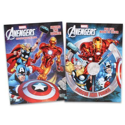 1 piece of The Avengers Coloring Book - 96p RANDOM SELECTION by Mighty Gadget