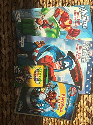 Avengers Coloring Bundle
