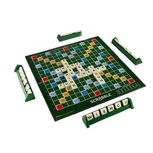 LightInTheBox Classic Word Score Game Scrabble Original Tiles Kids Board Games Tile Lock Scrabble